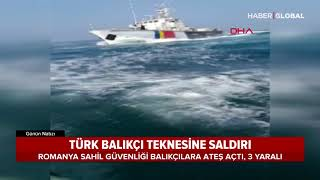 Karadeniz'de Türk Balıkçı Teknesine Saldırı