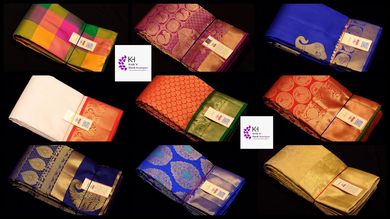 Pure Jari Kanchipuram Silk Saree Collections