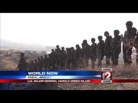 U.S. Army General killed in Afghan attacks