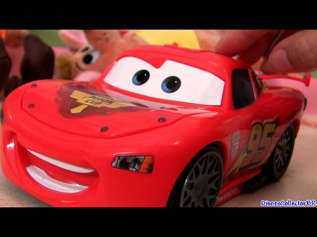 Pit Crew Panic Lightning Mcqueen electronic game Disney Pixar talking toy Travel Video