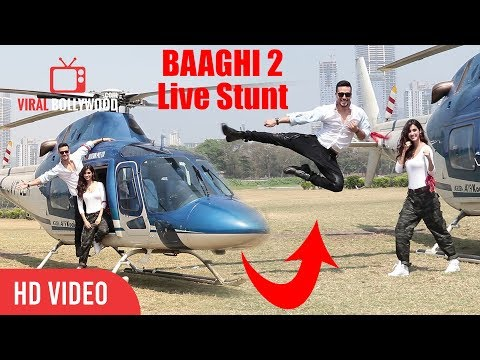 Baaghi 2 Action Stunt: Tiger Shroff Live Stunt With Disha Patani | Baaghi 2