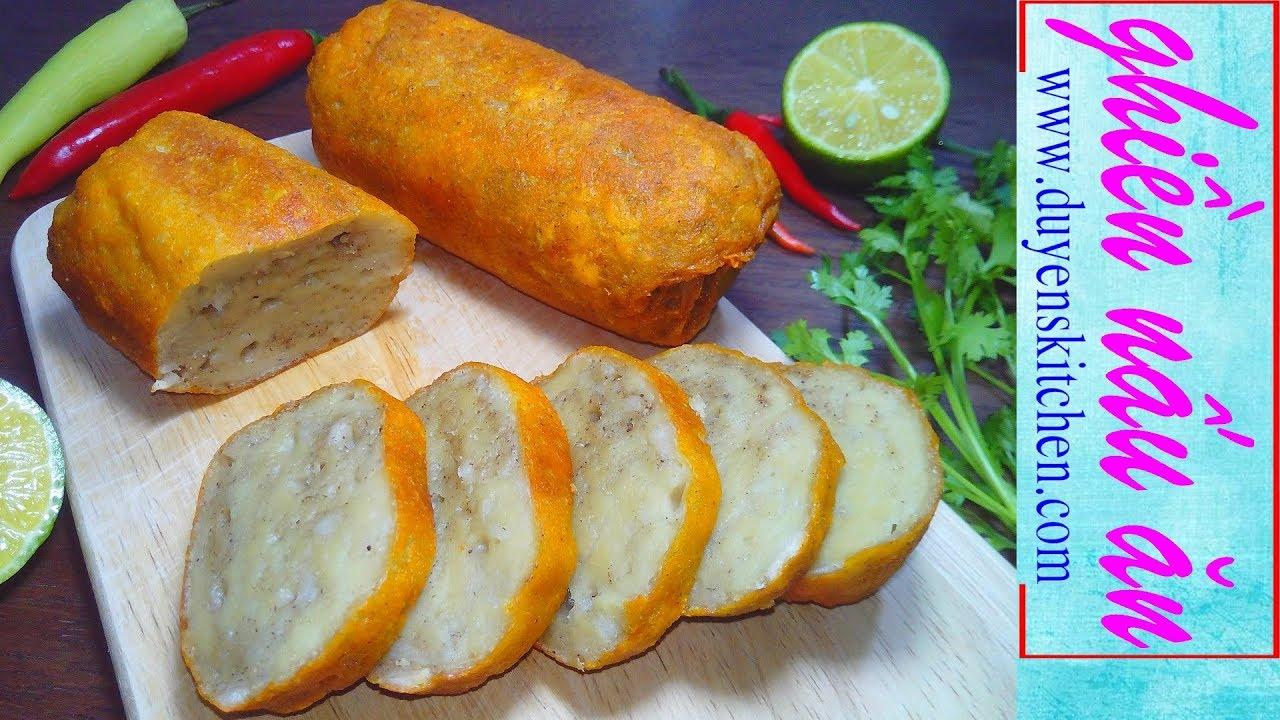 Cách Làm CHẢ QUẾ CHAY Dai Ngon Từ Bột Mì By Duyen's Kitchen   Ghiền Nấu Ăn