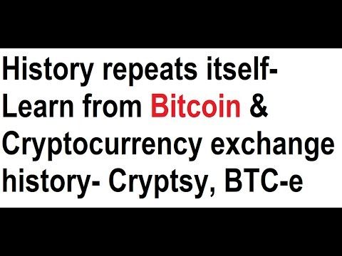 History repeats itself- Learn from Bitcoin & Cryptocurrency exchange history- Cryptsy