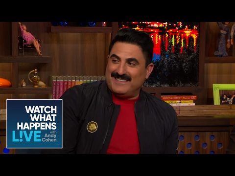 Reza Farahan Asks Andy About Being Single  Host Talkative  WWHL