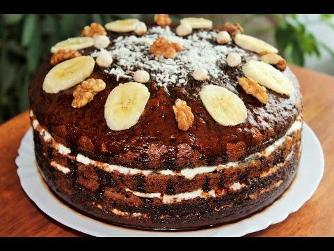 Шоколадный торт с джемом