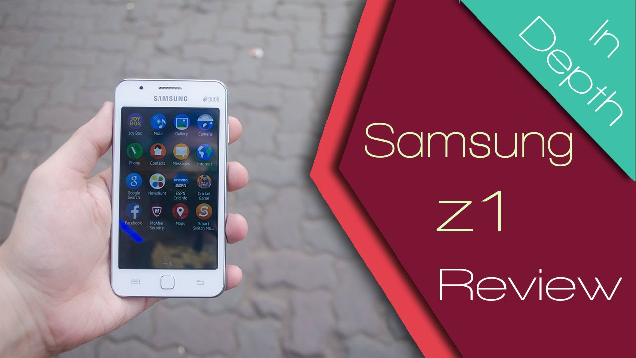 Samsung Z1 (SM-Z130H) 1st Tizen OS Phone Full In Depth Review | Camera, Internet & Performance ...
