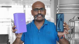 கலக்கும் Moto One Action Unboxing First Impression in Tamil
