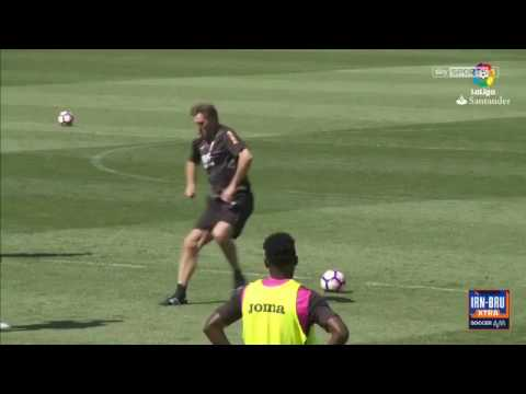 Tony Adams new training regime is underway at Granada!