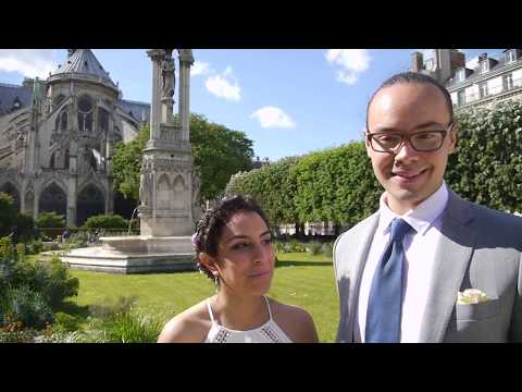 Notre Dame Cathedral elopement