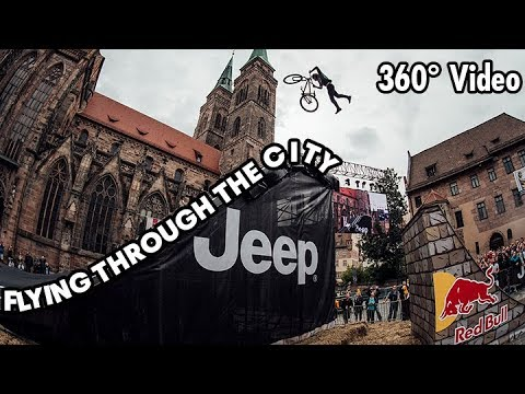 Take a 360 Urban MTB freeride at Red Bull District Ride.
