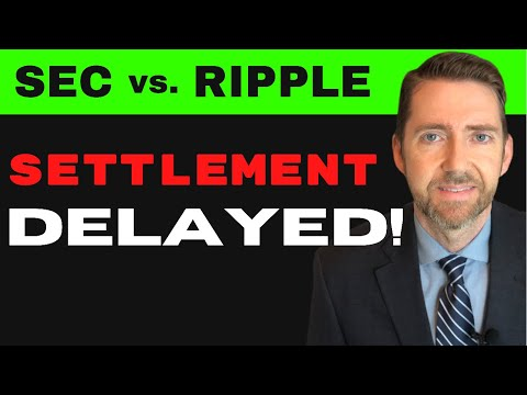 Lawyer Jeremy Hogan on SEC v. Ripple Delays, New Possible Settlement Timeframe, and Where to FOCUS.