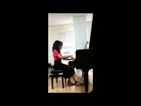 A Comme Amour (Richard Clayderman) piano live - Shubhashree