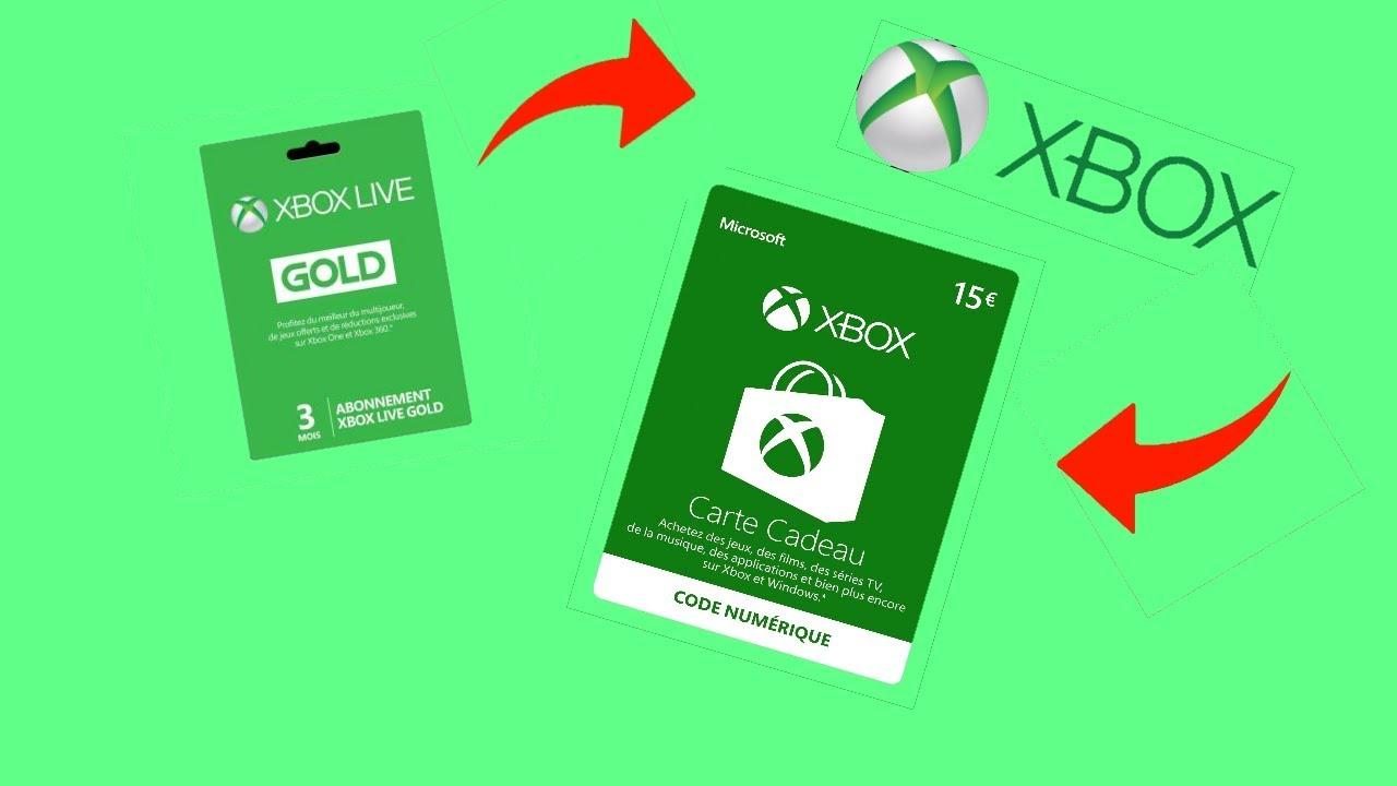 Carte Cadeau Xbox Gratuit Sans Verification.Gagner Des Abonnements Xbox Live Gold Sans Rien Faire