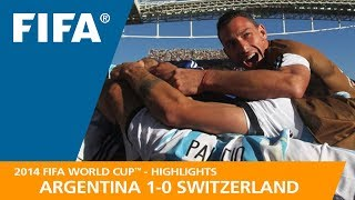 ARGENTINA v SWITZERLAND (1:0) - 2014 FIFA World Cup™