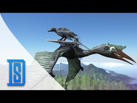 Ark Survival Evolved -Northern Tribe - Flying Quetzalcoatlus/Mammoth Drop