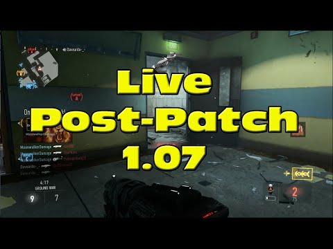 Live Post-Patch 1.07 sur AW PS4 : Enfin des bonnes connexions ?