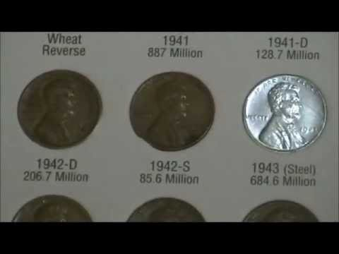 U.S. Coin Collection - Cents (Part 1)