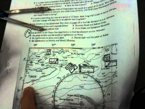 Navigation  - nautical distances (1of2)