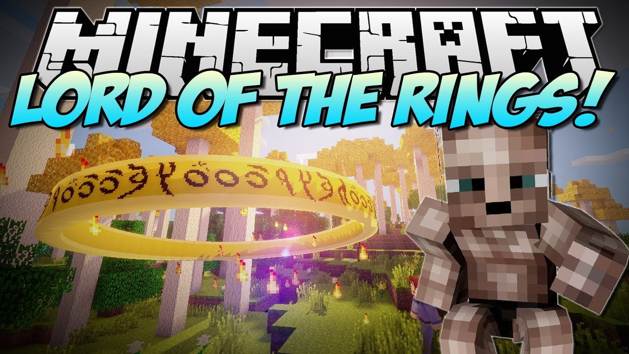 minecraft the lord of the rings mod
