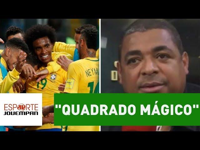 """Vampeta vê novo """"quadrado mágico"""" na Seleção! SAIBA qual!"""