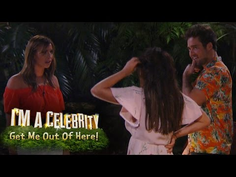 Spencer, Vicky And Ferne Enter The Jungle | I'm A Celebrity... Get Me Out Of Here!