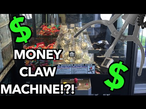 claw machine money