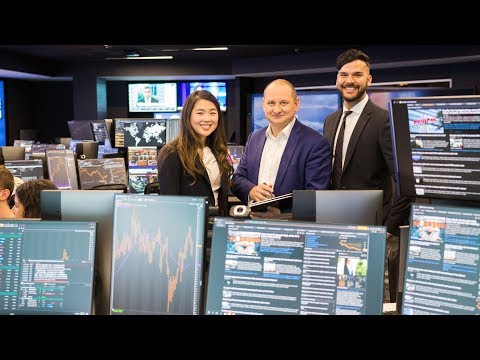Students sold on new cutting-edge trading room