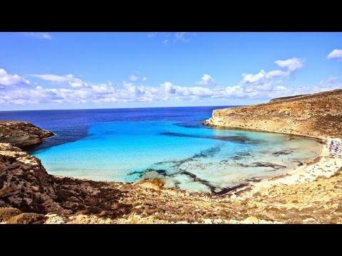 Rabitt Beach Spiaggia Dei Conigli Lampedusa Italy Youtube