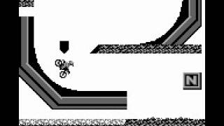 Motocross Maniacs (Game Boy) - Complete Playthrough