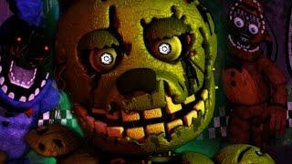 SPRINGTRAP FOUND IN FNAF 2?!    One Night at Freddys 2 (Five Nights at Freddys)