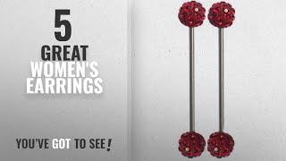 10 Best Earrings Industrial Bar [2018]: Thenice 1 Pair 1.6mm Length Rod 40mm Ear Bone Earring