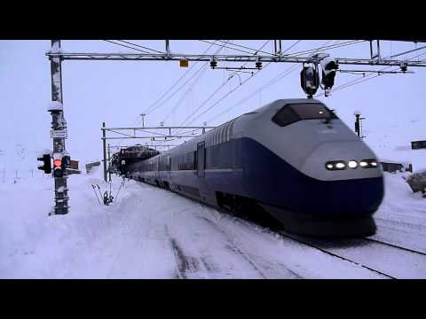 Finse - Morratoget fra Bergen