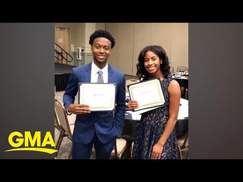 school-names-1st-black-valedictorian-and-salutatorian-pair-in-school's-history- -gma-digital