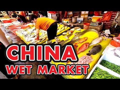 CHINA WET MARKET - DATONG TRADITIONAL MARKET - XIAMEN