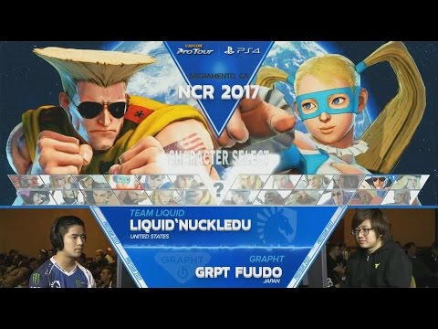SFV: Liquid'NuckleDu vs GRPT Fuudo - NCR 2017 Top 8 - CPT 2017
