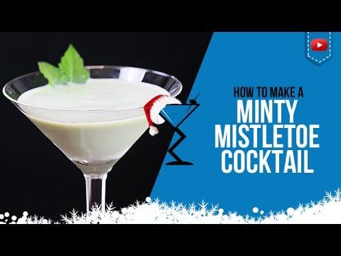 Christmas Cocktails - Minty Mistletoe -...