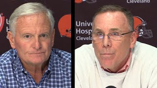 Browns explain firing Hue Jackson and Todd Haley
