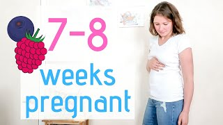 7 AND 8 WEEK PREGNANCY UPDATE || PROTEIN IN URINE, MORNING SICKNESS, FATIGUE