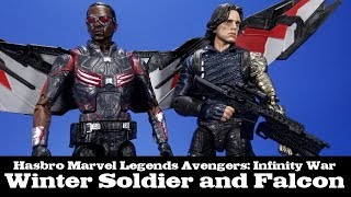 Marvel Legends Winter Soldier and Falcon Two Pack Hasbro Target Exclusive Review
