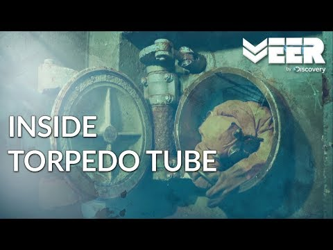 Indian Submariners E1P4 - Harman Inside a Submarine Torpedo Tube   Breaking Point Veer by Discovery