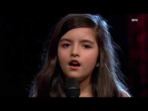 """AMAZING Angelina Jordan sings """"Unchained Melody"""""""