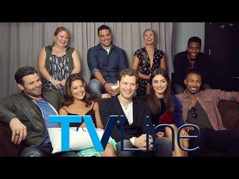 The Originals Cast  at ComicCon 2015