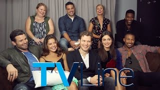 The Originals Cast Interview at Comic-Con 2015