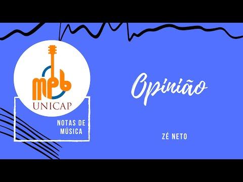 Projeto Notas De Música - Opinião (Intérprete: Maria Eduarda Sales)