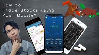 Trade Stocks using Mobile Phone | Tagalog