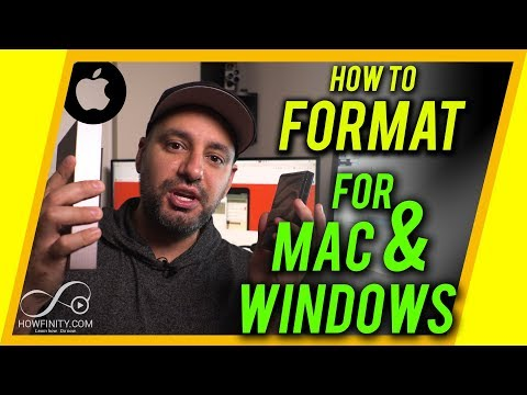 How To Format A Hard Drive For MAC And PC