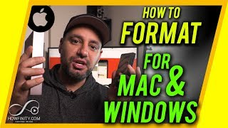 How to format a hard drive for MAC and PC Video