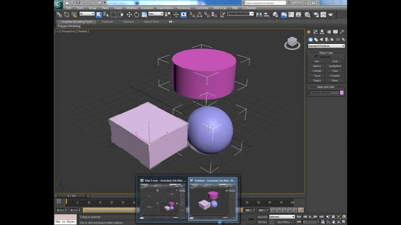Quick Tip: Copying Objects from One 3ds Max Scene to Another using