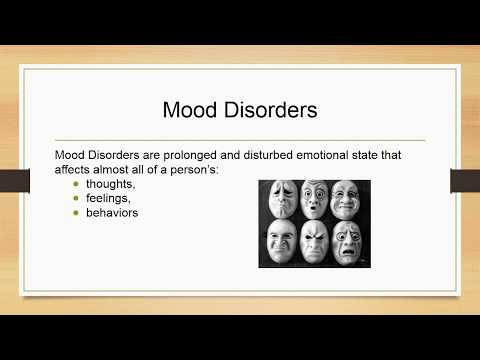 Mood Disorders:  Depression and Bipolar Disorders