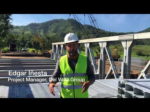 Modular Bridge Will Reconnect Communities in Puerto Rico